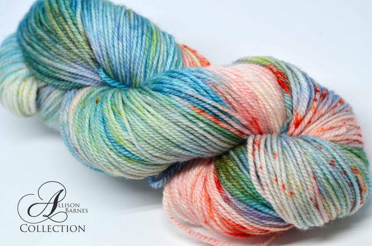 Hand Dyed Superwash Merino - DK weight yarn - Succulent Garden by allisonbCOLLECTION on Etsy https://www.etsy.com/ca/listing/488873544/hand-dyed-superwash-merino-dk-weight