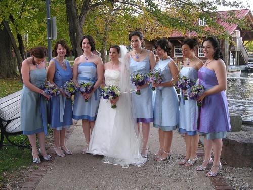 short bridesmaid hairstyles 2013