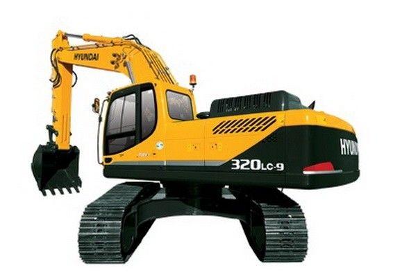 Hyundai R320lc 9 Crawler Excavator Service Manual Hyundai Excavator Service