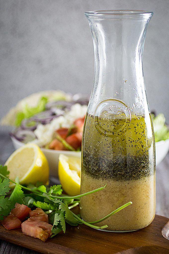 Best Greek Salad Dressing and Greek Salad