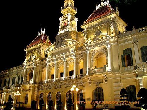 HCMC People's Committee Building City Hall (Ủy Ban Nhân Dân Thành Phố HCM) from http://www.vietnamesefood.com.vn/vietnam-attractions/vietnam-popular-destinations/hcmc-people-committee-building-city-hall-uy-ban-nhan-dan-thanh-pho-hcm.html