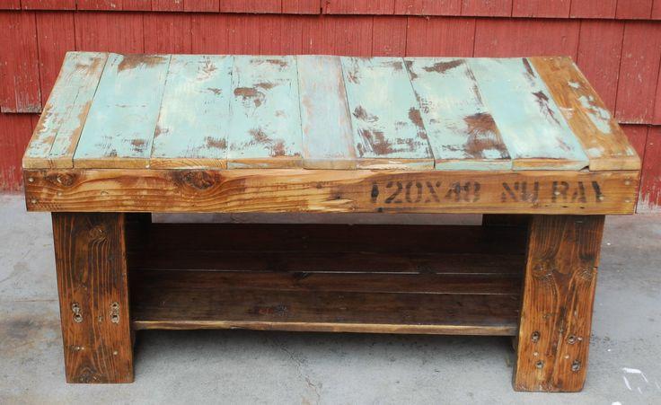 Pallet Coffee Table Wood Handmade 100 00 Via Etsy