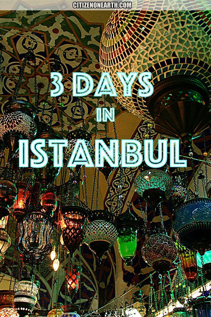 3 days in Istanbul – cute day programs and routines … –