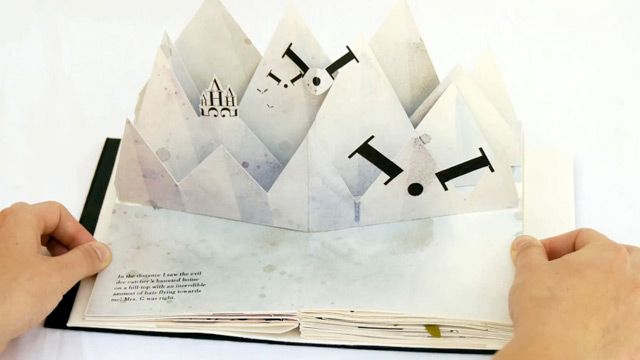 Bodoni Bedlam: A Pop-Up Book by Victoria Macey
