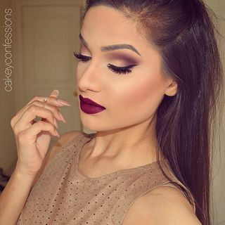 I probably wouldn't be able to pull off the lipstick but the makeup and the colors are really pretty.