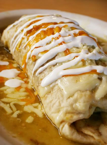 Recipe for Stuffed Burrito with Chicken | Amazing Mexican Recipes