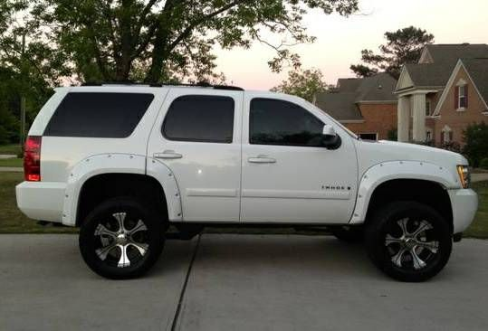How Much Are Chevy Tahoes 2007 Chevrolet Tahoe LT Lifted | Lifted Tahoe | Pinterest | Chevrolet ...