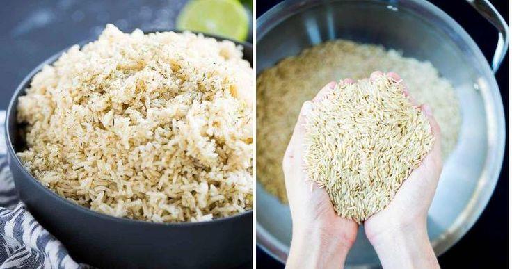 ¿Cómo hacer arroz integral para que les guste a todos?