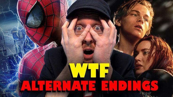 Top 11 WTF Alternate Movie Endings - YouTube