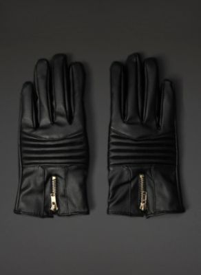 Faux Leather Gloves | New