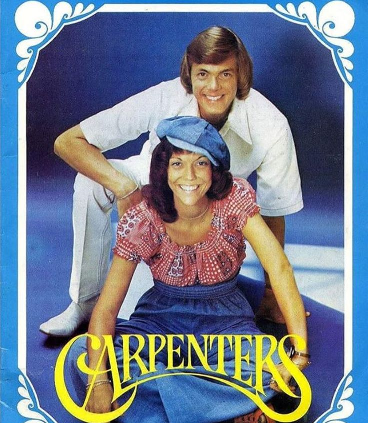 one of my favorite photos of Karen and Richard (the Carpenters)