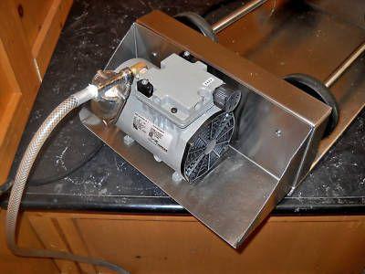 Nu-vu commercial vacuum tumbler meat marinader vt-1