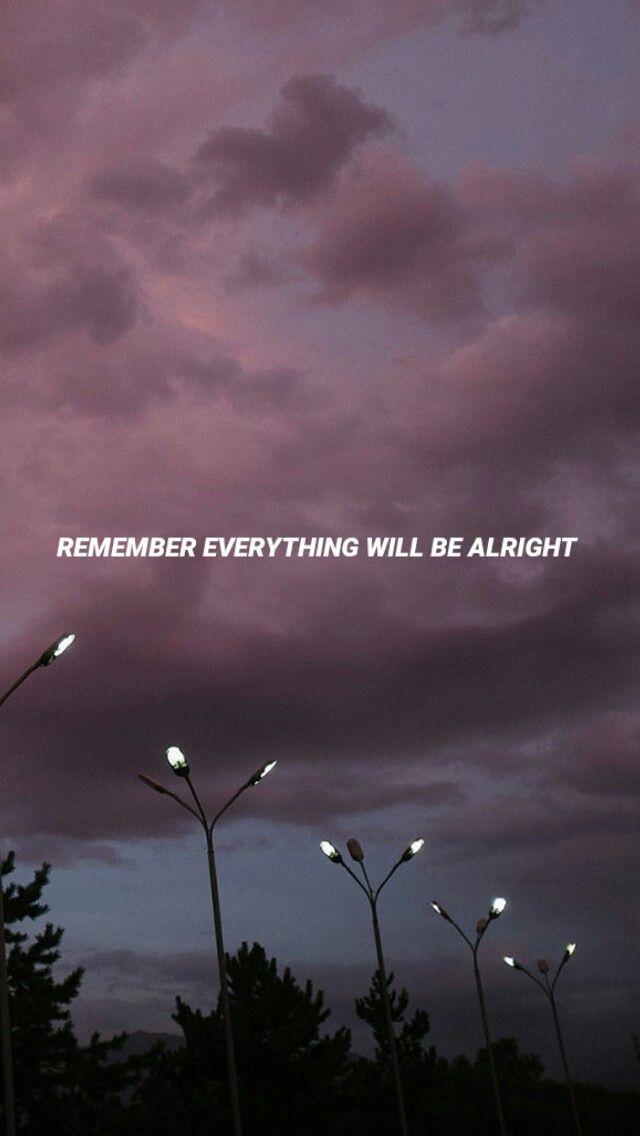 recuerda que todo saldrá bien