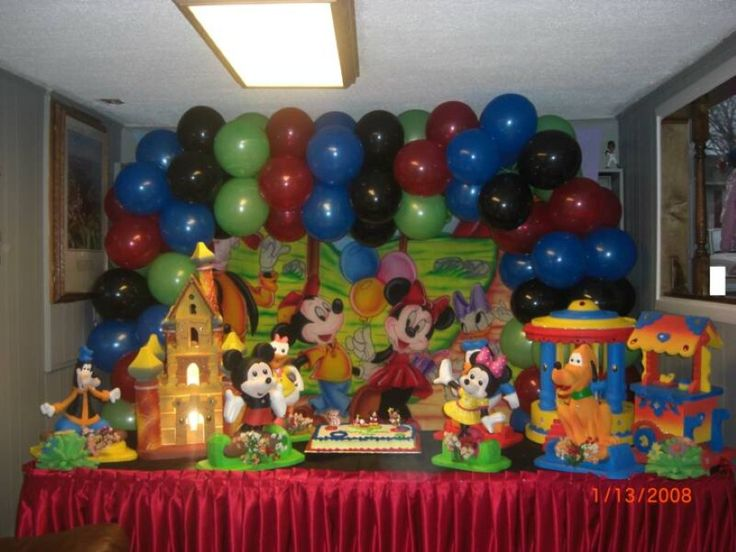 72 best Twins First Birthday Idea images on Pinterest Mickey mouse