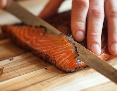 Smoky Tea-Cured Salmon Two Ways from the Tasting Table Test Kitchen | TastingTable Recipes