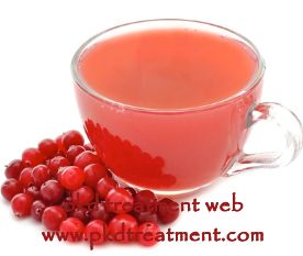 Is cranberry juice good for kidney cyst patients? Kidney cyst is a kind of kidney disease for people older than 50 years old, which can be caused by many factors. When patients suffer from kidney cyst, they need to keep a well planed diet, which can reduce the kidney burden and prevent the enlargement of kidney cysts. So patients need to know well of what can eat and what cant eat with their kidney cyst. So patients will wonder whether they can take cranberry juice with their disease.