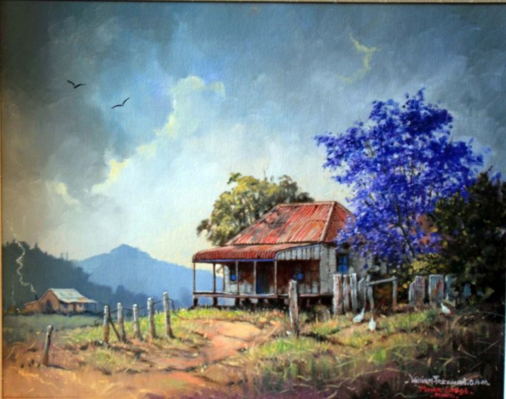 ✿☀✿ [D'Arcy Doyle (1932-2001) : Miners Cottage] ✿☀✿