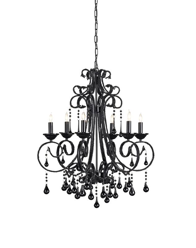 12 best how to fit a black and white chandelier into interior images black and white chandelier review aloadofball Images
