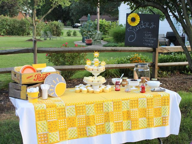Schenk Sightings: You Are My Sunshine {Party Details}
