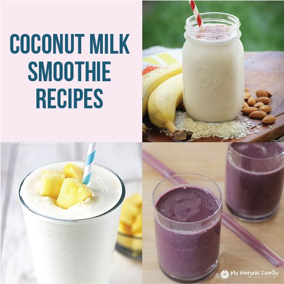 I have 10 of the Best Coconut Milk Smoothie Recipes. I don't care who you are, you are bound to love a smoothie. What's not to love? Sweet, rich, and creamy...
