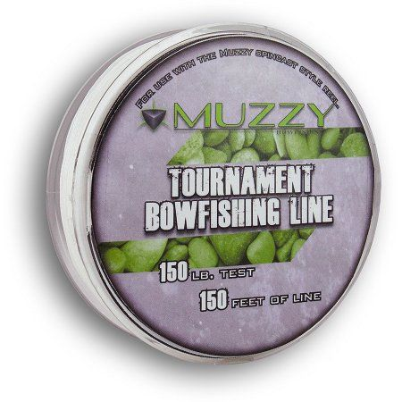 Muzzy Tournament Bowfishing Line (150') 1076, Multicolor
