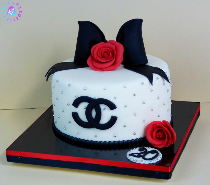 Chanel Cake Ideas: Best 20+ Coco Chanel Cake Ideas On Pinterest