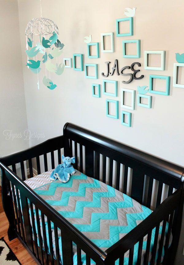 20 schattige zelfmaakideetjes voor in de babykamer - Zelfmaak ideetjes