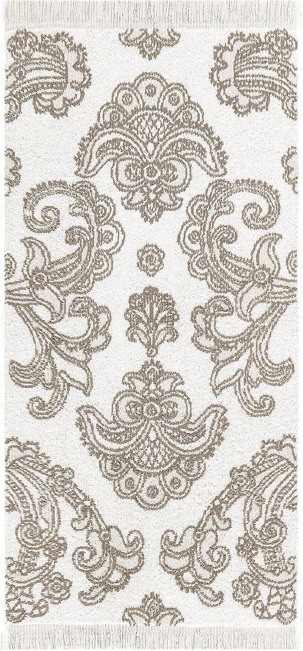 Dekorative Handtuch Serie »Lisbeth« der Marke Egeria. Das Design der Handtücher und Badetücher bezaubert durch die floralen Ornamente in kräftigen Farben. Kombinieren Sie diese gekonnt mit passenden unifarbenen Tüchern - so bringen Sie im Handumdrehen neuen Schwung in Ihr Badezimmer. Das Material aus 100% Baumwolle ist schön griffig, weich und saugstark. Außerdem punktet das Frottiertuch mit ei...