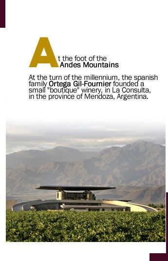 Bodega O.Fournier: San Carlos-Mendoza-Argentina