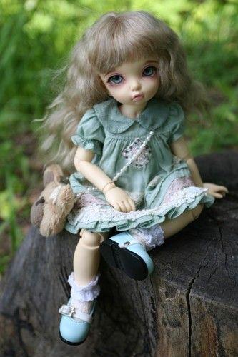 Лесная фея) / BJD - шарнирные куклы БЖД / Бэйбики. Куклы фото. Одежда для кукол