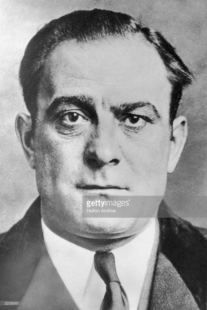 1955: Italian gangster Vito Genovese.