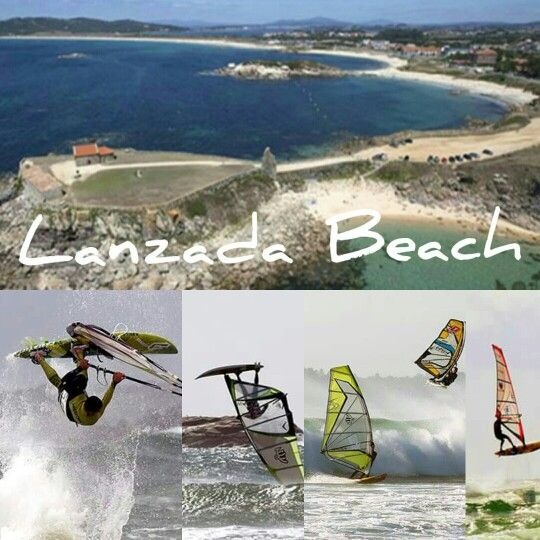 Best Wind Spots Galicia & North Portugal. Spot 4: A Lanzada. Most popular beach for all south Galician riders. Close to Pontevedra, O Grove. Good wave conditions with SW winter storms and summer NE. One of the bigest beaches in Galicia.