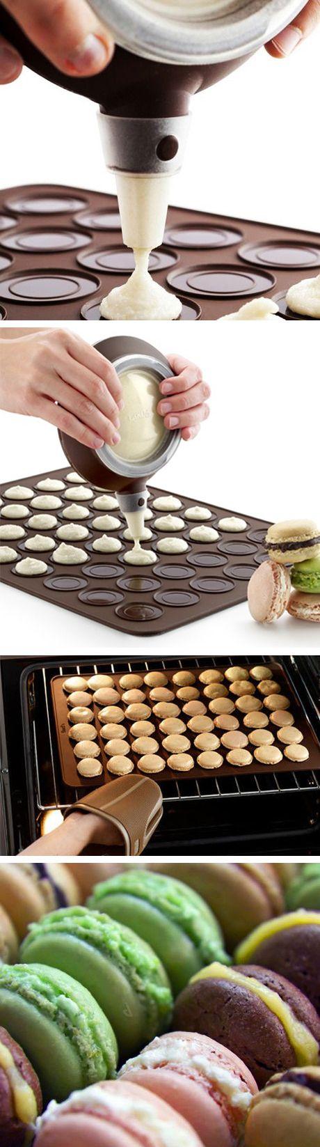 DIY macaron kit - all you need to make perfect macarons at home #product_design