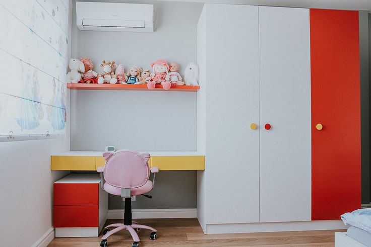 Colorful room #children #room #colorful #happy #clients #fortheirchildren #PAL #material #sarmobdesign #romania