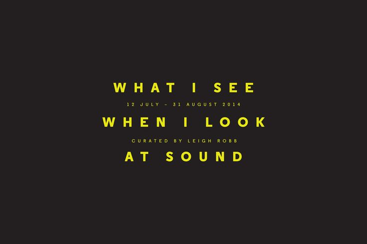 WHAT I SEE WHEN I LOOK AT SOUND - edward.mg.stroud