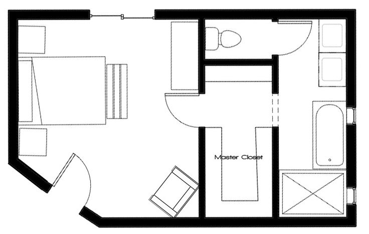 25 Best Master Bedroom Floor Plans (with Ensuite) Images
