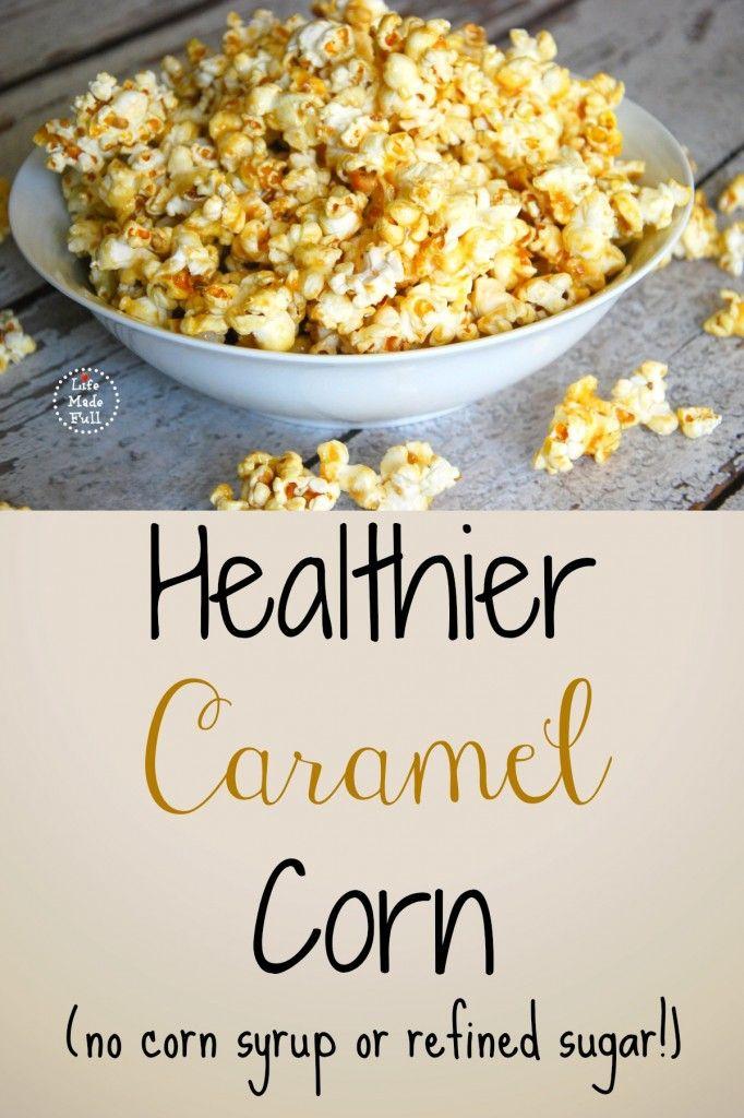 healthier caramel corn