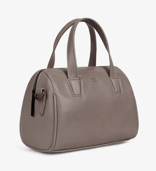 Great Christmas gift for your vegan friend or family member. Mitsuko Mini handbag in Walnut from Matt & Nat's Vintage Collection.