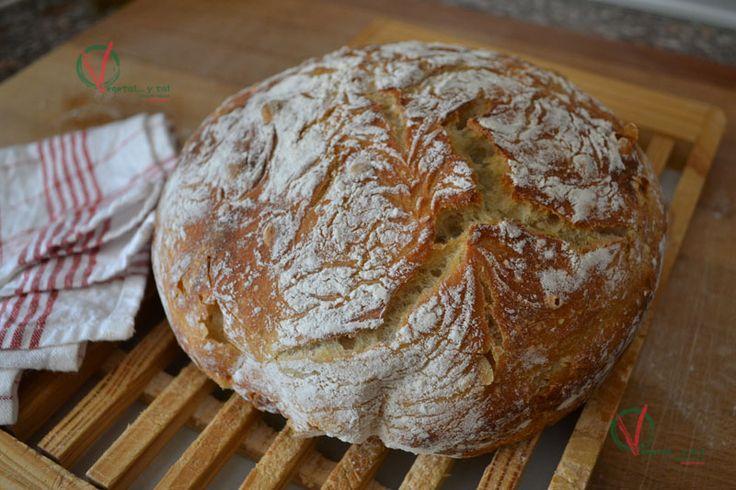 Vegetal... y tal: Pan en olla, sin amasado