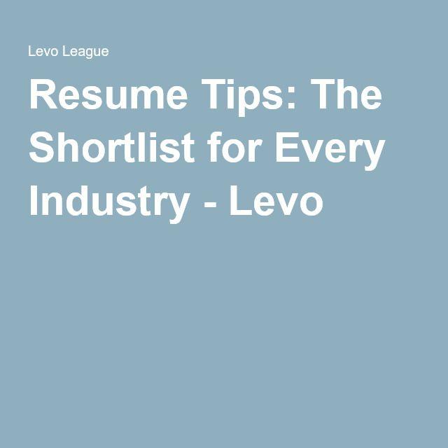 24 best Resume Tips images on Pinterest Resume tips, Resume - best resume tips
