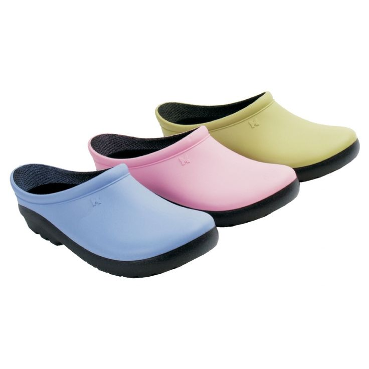 Sloggers premium garden clogs for women feature a premium lining and comfort  insole. Waterproof comfort for the garden Made in the USA