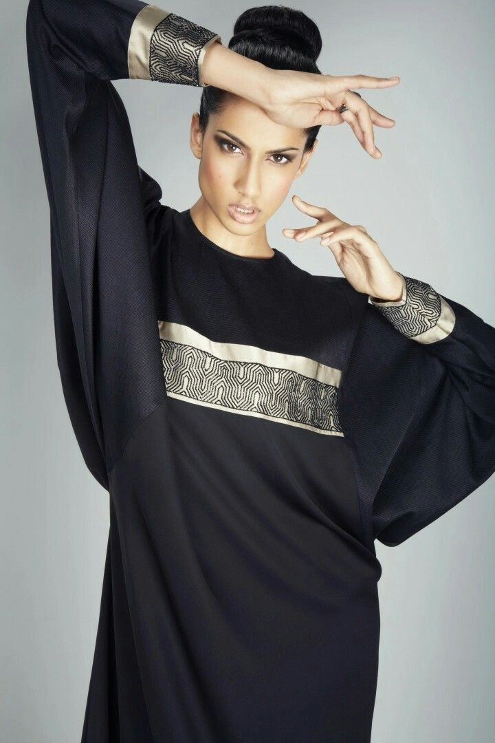 Haute Couture Abaya designed by Judith Duriez