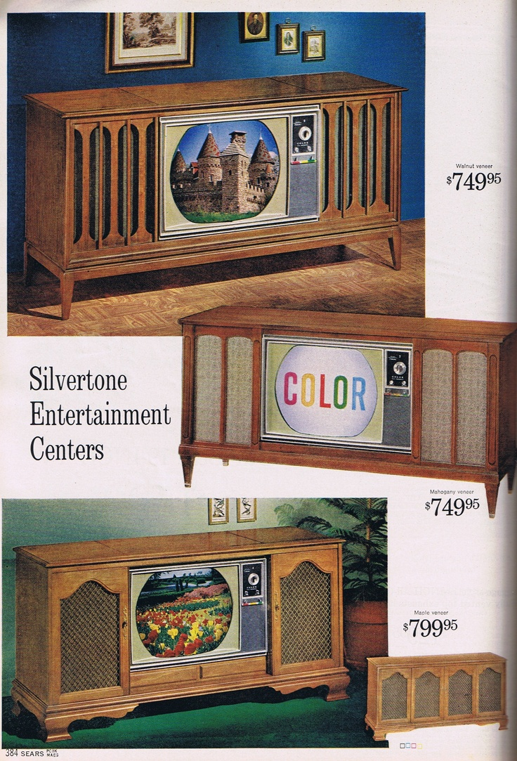 Christmas 1964... My grand parents had a color TV