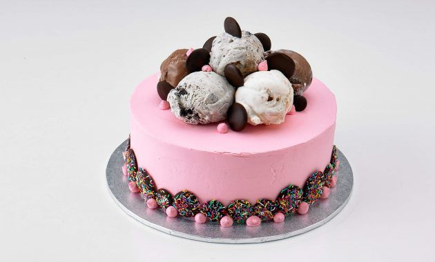 Awe Inspiring Ice Cream Cake For Birthday Recipe Ice Cream Birthday Cake Personalised Birthday Cards Arneslily Jamesorg