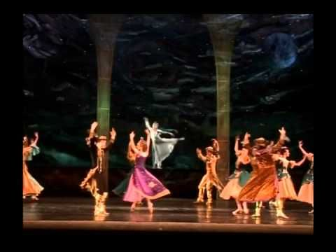 "Ballet ""Luceafarul"". A scene from the ballet. - YouTube"