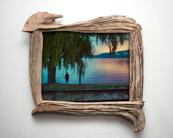 Driftwood Picture Frame 8x10 Wooden Frame Wooden Frame Handmade
