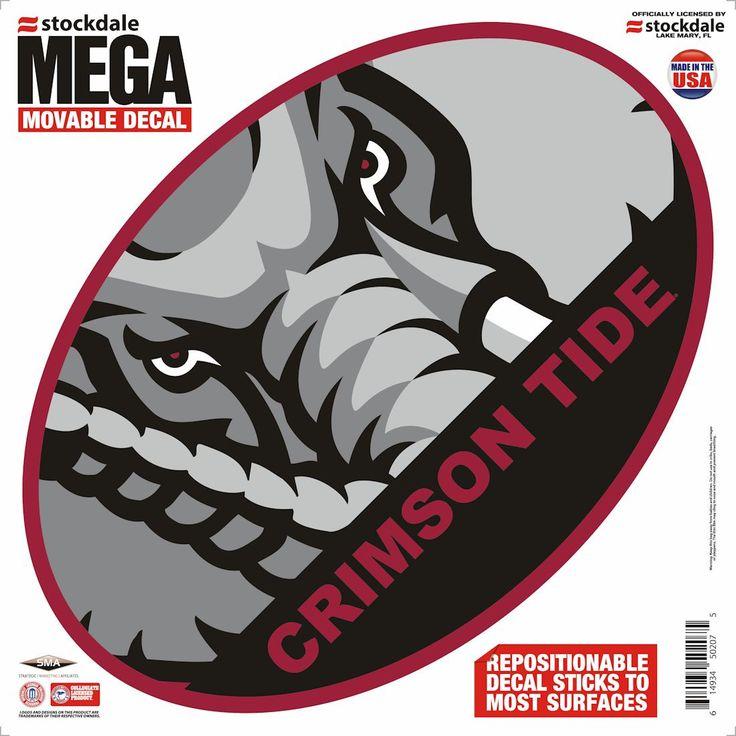 Alabama Crimson Tide Decal 12 Quot X12 Quot Mega Sports Full