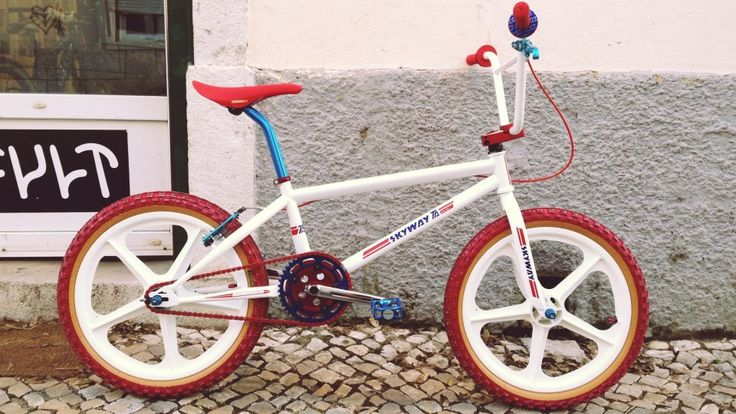 Skyway BMX bike