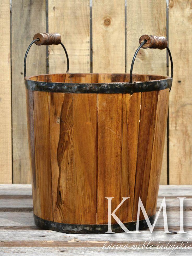 indyjska osłonka drewniana teak