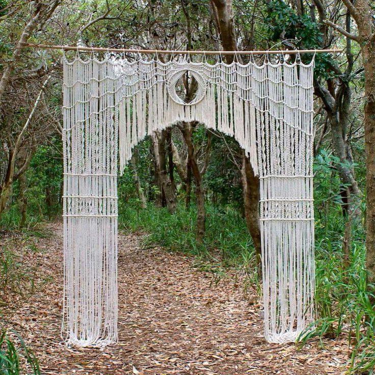 Macramae Ideas Wedding Arch: 255 Best Macrame Wedding Images On Pinterest